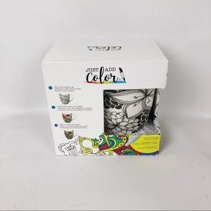 Just Add Color Dining - Just Add Color Personalized Food Sage Coffee Mug